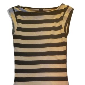 FRENCH CONNECTION Bodycon Tshirt Dress Cap Sleeve